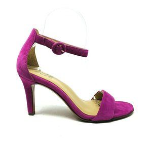 New Naturalizer Womans Kinsley Sandal Pink Suede S